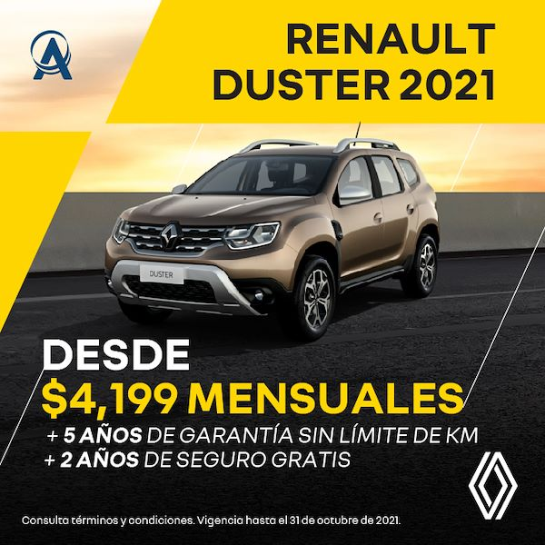 Totalmente nueva Renault Duster 2021