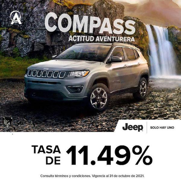 JEEP COMPASS ACTITUD AVENTURA