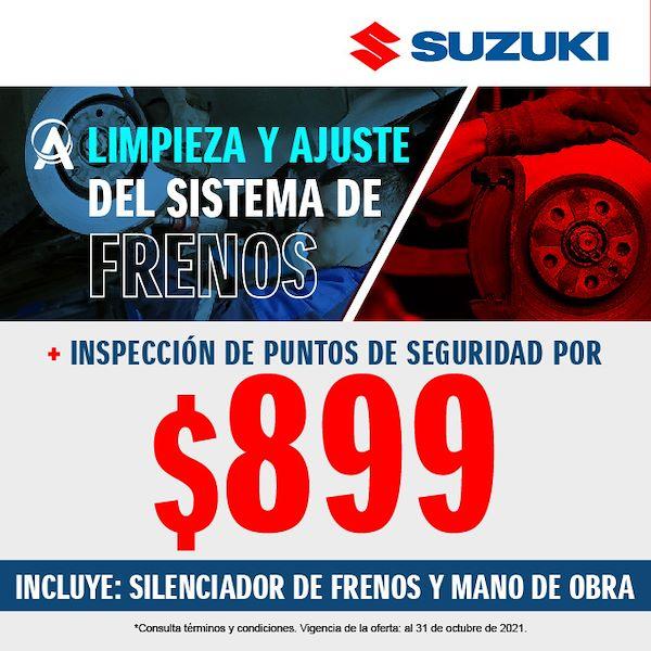 LIMPIEZA Y AJUSTE DEL SISTEMA DE FRENOS A SOLO $899