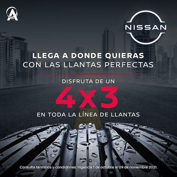 PromociónNissanllantas 4x3