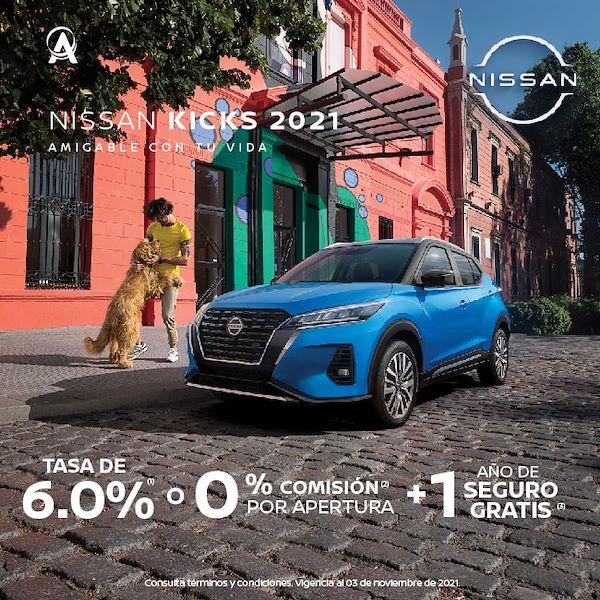 Promoción octubre Nissan Kicks 2021